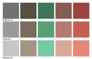 Color Swatches by Color As Agent In Architecture Woodbury University Fall