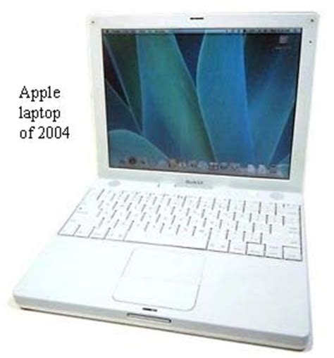 Second Laptop Apple Ibook G4 a timeline of computing