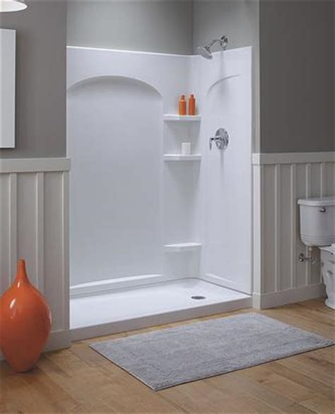 shower stalls and shower walls: surprising solutions for