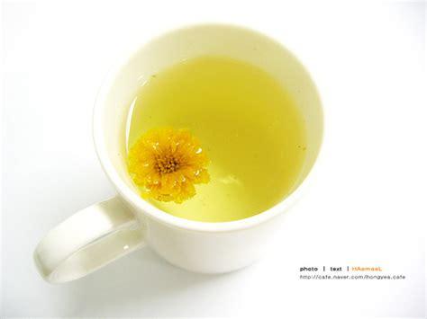 Drinho Chrysanthemum Tea Minuman Rasa Teh Bunga Mari Minum Teh Bersama Di Korea Selatan Wisata Korea