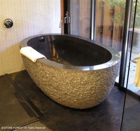 stone bathtub stone forest oval bathtub the deals on stone forest