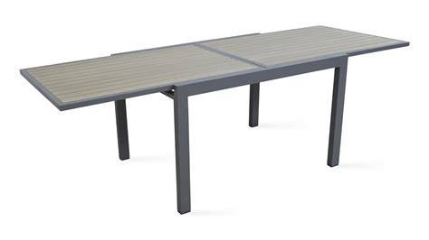table de jardin extensible en solde soldes table de