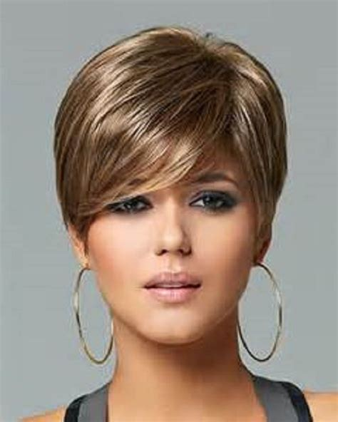 weighted cuts for short hair womens light weight wig comfortable boy cut layered hair