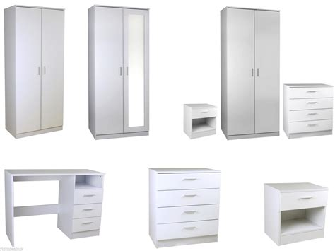 New Caspian High Gloss White Bedroom Furniture Set Full Caspian Bedroom Furniture