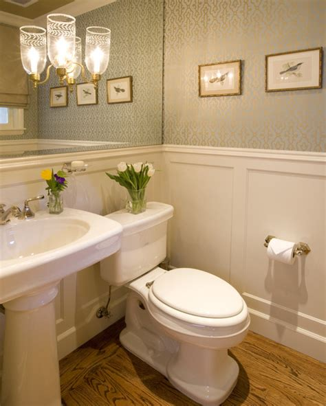 powder rooms with wainscoting small baths with big impact wainscoting bath and powder