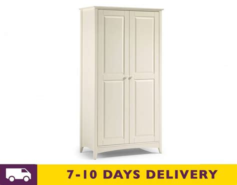 stone white bedroom furniture julian bowen cameo stone white 2 door wardrobe bedroom furniture from bed sos uk