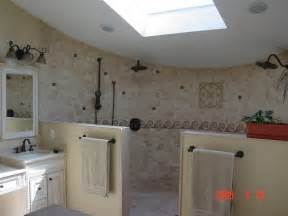 open shower design open shower design traditional bathroom other metro