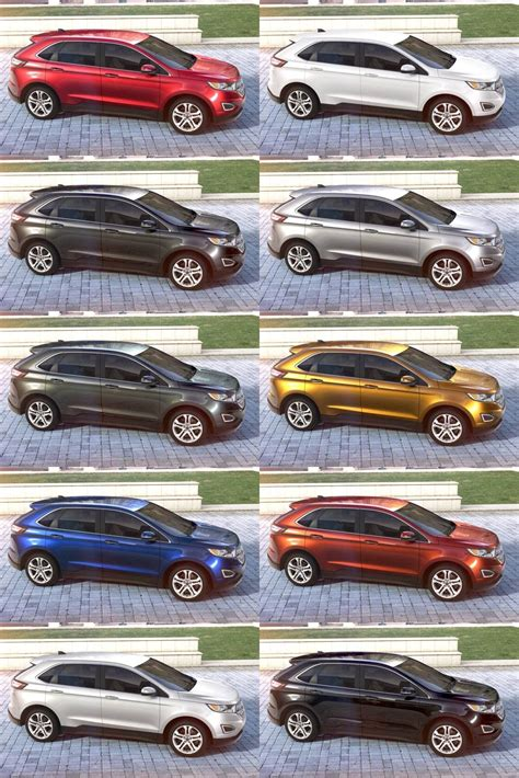 2015 ford edge colors autos post