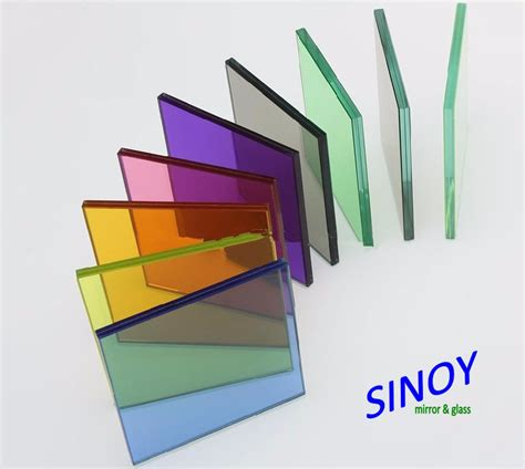 color glass 4mm 5mm 6mm 8mm bronze green blue grey float glass color