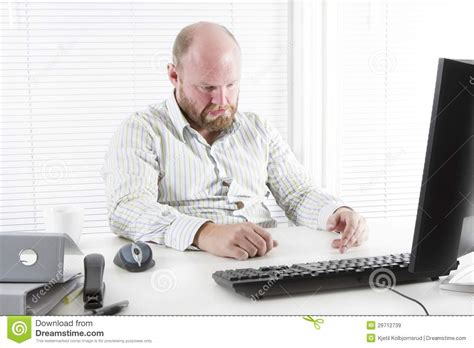 How Do Sad Work Sad At The Office Royalty Free Stock Images Image