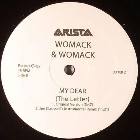 my dear womack womack my dear vinyl at juno records