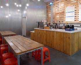 restaurant design ideas minimalist small restaurant design ideas with rustic lighting