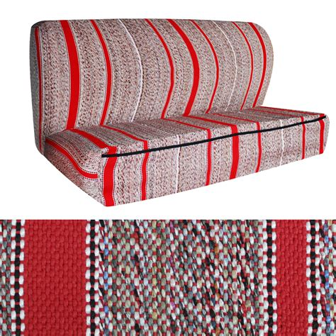 bench seat cover for truck oxgord 2pc woven western saddle blanket seat cover pickup