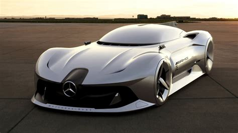 future supercar mercedes 2040 w196r streamliner future mercedes