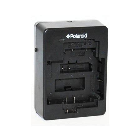 polaroid universal camera & camcorder battery charger for