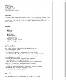 Contract Analyst Cover Letter by Clinical Analyst Resume Exle Certified Professional Contract Analyst Templates