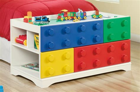 Lego Desk Organizer Shopping For Sauder Furniture 417932 Primary Children Block Lego Play Table