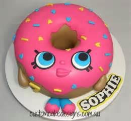shopkins lish donut cake cakecentral