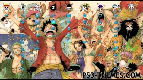 themes ps4 one piece ps3 themes one piece new nakama dynamic theme tattoo