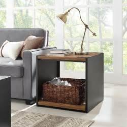 walker edison furniture company rustic wood storage side