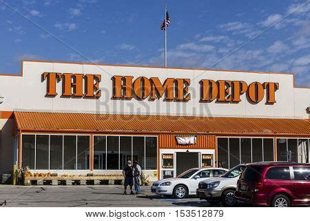 logansport circa october 2016 home depot location home