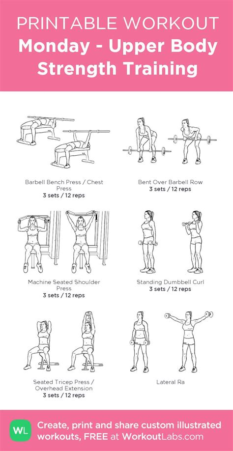 printable iron strength workout 95 best images about printable workouts on pinterest