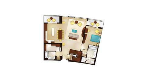 bay lake tower one bedroom villa floor plan bay lake tower one bedroom villa floor plan bay lake tower dvc welcome home