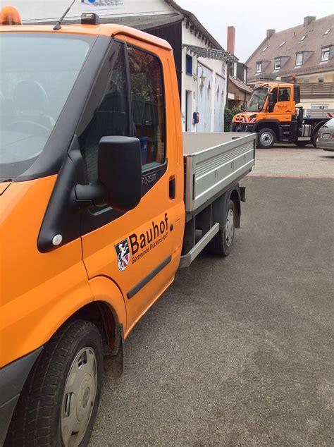 Fahrzeugbeschriftung Erlangen by Flottenbeklebung Bauhof R 252 Ckersdorf Focus