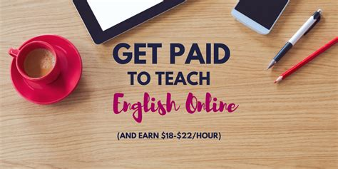 Get Paid To Work From Home Online - get paid to teach english online and earn 18 22 an hour work from home happiness