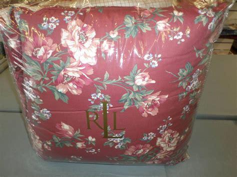 red floral comforter sets lauren ralph lauren parsonage lane berry red floral queen