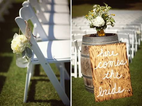 yellow rustic chic wedding every last detail