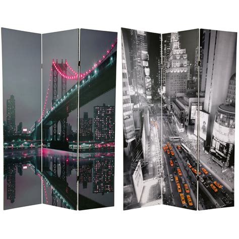 Room Dividers Nyc by 6 Ft New York State Of Mind Room Divider Roomdividers