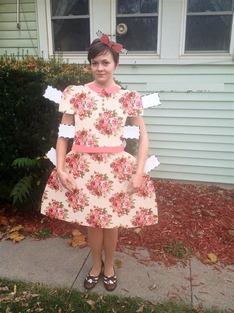 Paper Doll Costume To Make - 36 elaborate costumes to make everyone jealous
