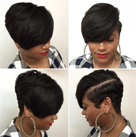 a layered hair wrap short healthy hair style by hairbylatise black hair