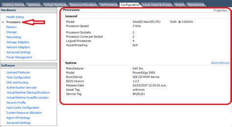 Mba Configuration Menu Dell Esxi by Virtualizacion 250 Configuration Hardware Vsphere Esxi 5 0