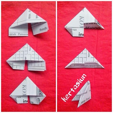 tutorial membuat bunga dari kertas origami tutorial membuat origami vas bunga