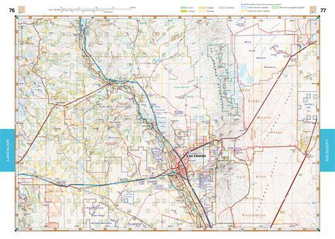 new mexico road map new mexico road recreation atlas benchmark maps