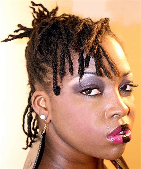 pictures of short dreadlock hairstyles 2 hairstyles for short dreads