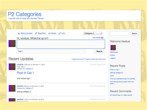 wordpress theme list categories freebie p2 categories wordpress theme xdesigns