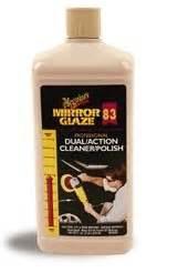 Meguiars Profesional Mirror Glazze Dual Cleaner Dan meguiars 83 dual cleaner polishes away