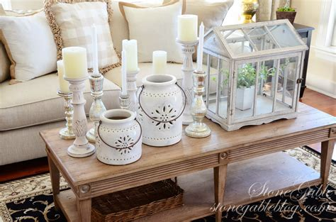 home table decor decorating 101 grouping like elements stonegable