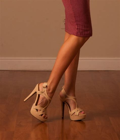 Pretty Heels For Summer by Beige High Heels For Summer Affordable Shoes For
