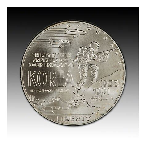 Usfca Mba Deadline by 1991 D Us Korean War Memorial Commemorative Bu Silver