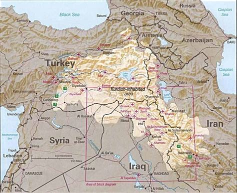 map of iran and syria kurdistan a new nation in the with 40 million
