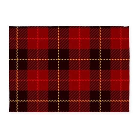 plaid area rug tartan plaid 5 x7 area rug by bestgear