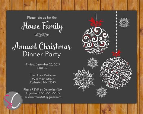 holiday party invites party invitations templates