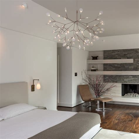bedroom pendant lighting moooi heracleum suspension light bedroom modern