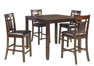 brown dining room table furniture deals millington tn bennox brown dining room counter table set