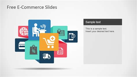 e commerce powerpoint template free e commerce slides for powerpoint slidemodel