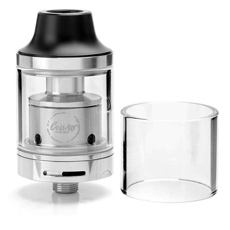 Rta Mage 24 Authentic Black buy authentic coilart mage rta rebuildable tank atomizer silver stainless steel 3 5ml 24mm